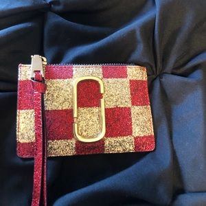 EUC Marc Jacobs Card Case with Key Ring